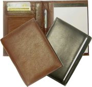 Junior Leather Wallet Notepad Holder